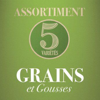 ASSORTIMENT DE GRAINS ET GOUSSES