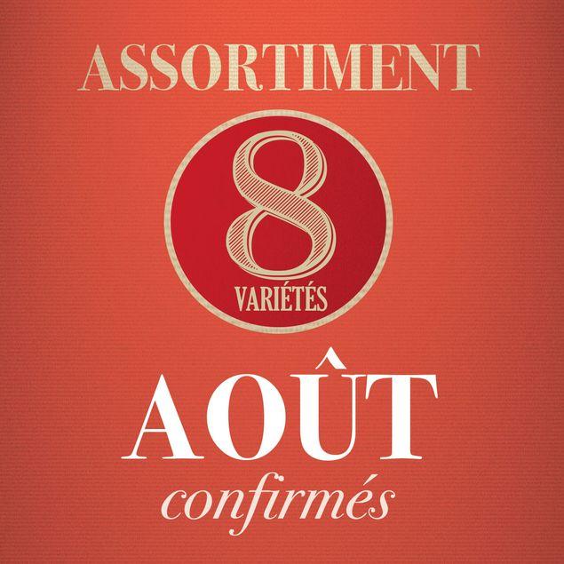 08 - ASSORTIMENT D´AOUT - confirmés