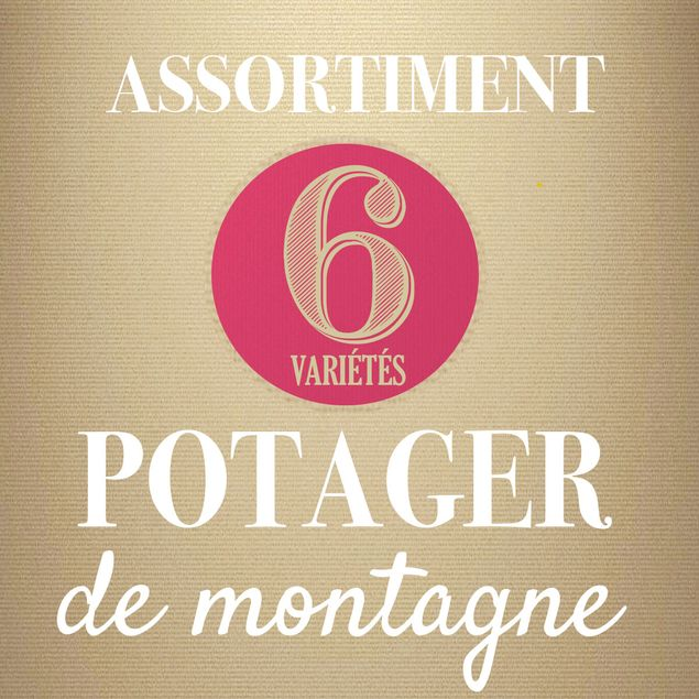 ASSORTIMENT POTAGER DE MONTAGNE